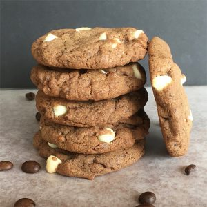 white chocolate mocha cookies