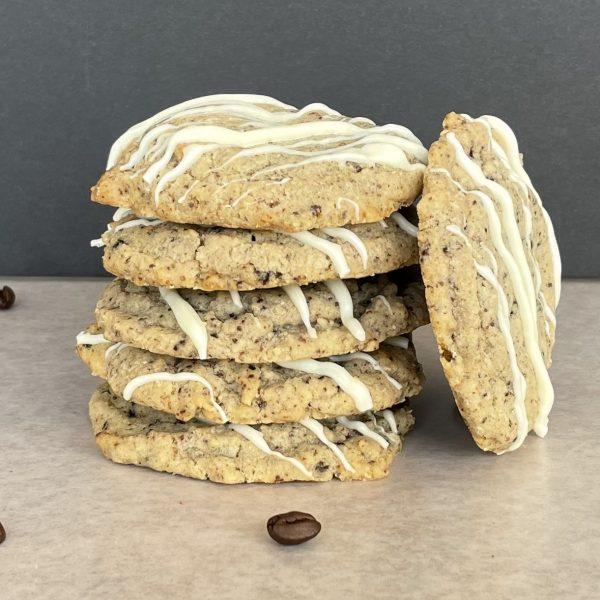 stack of cinnamon cookies